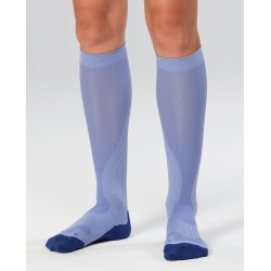Chaussettes de Compression Perf Run Lavandes